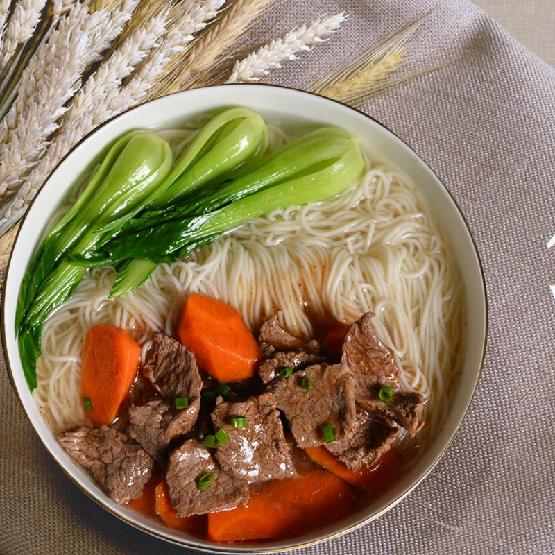 Specialty braised beef with noodles